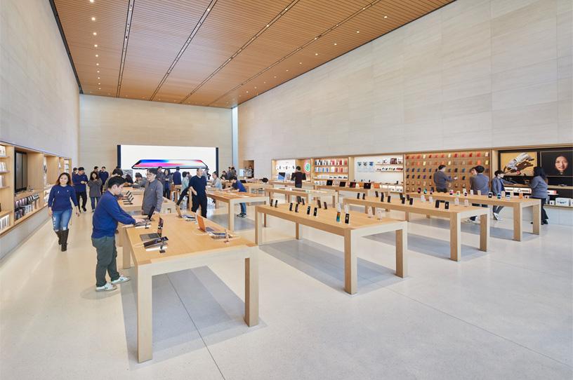 Amerikaanse winkels Apple blijven tot mei gesloten