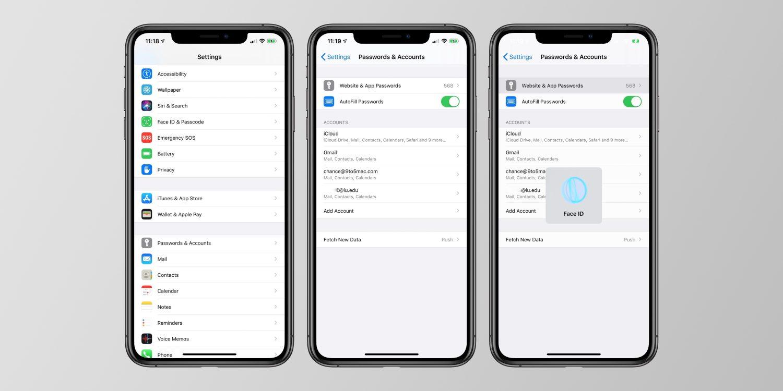 Mogelijk aparte Apple app voor wachtwoorden