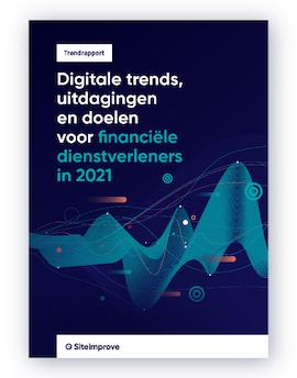 Trendrapport: digitale trends voor financiële dienstverleners in 2021