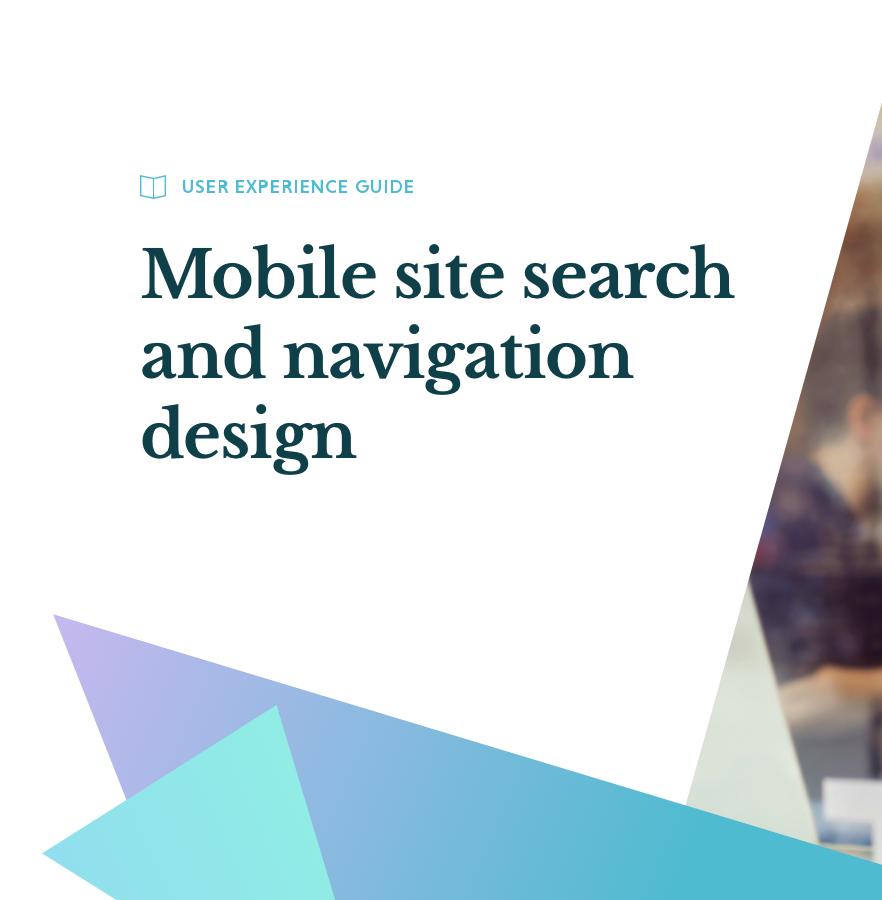 Verbeter je mobiele zoekopdrachten en navigatieontwerp