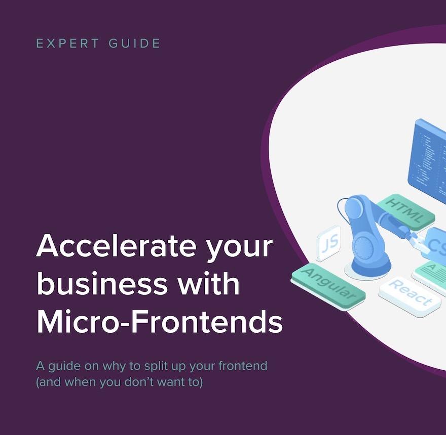 Versnellen met micro front-ends