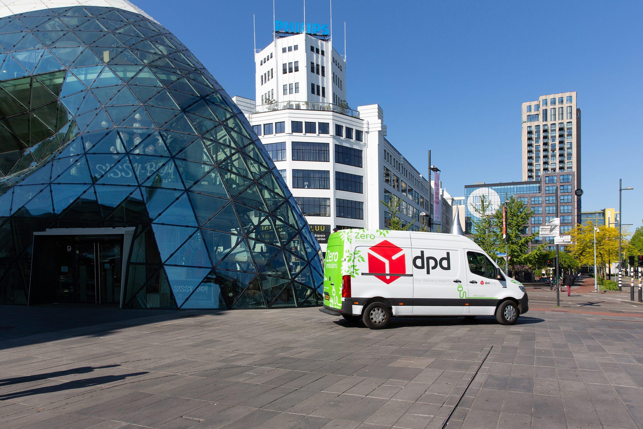 DPD rijdt nu ook elektrisch in Eindhoven