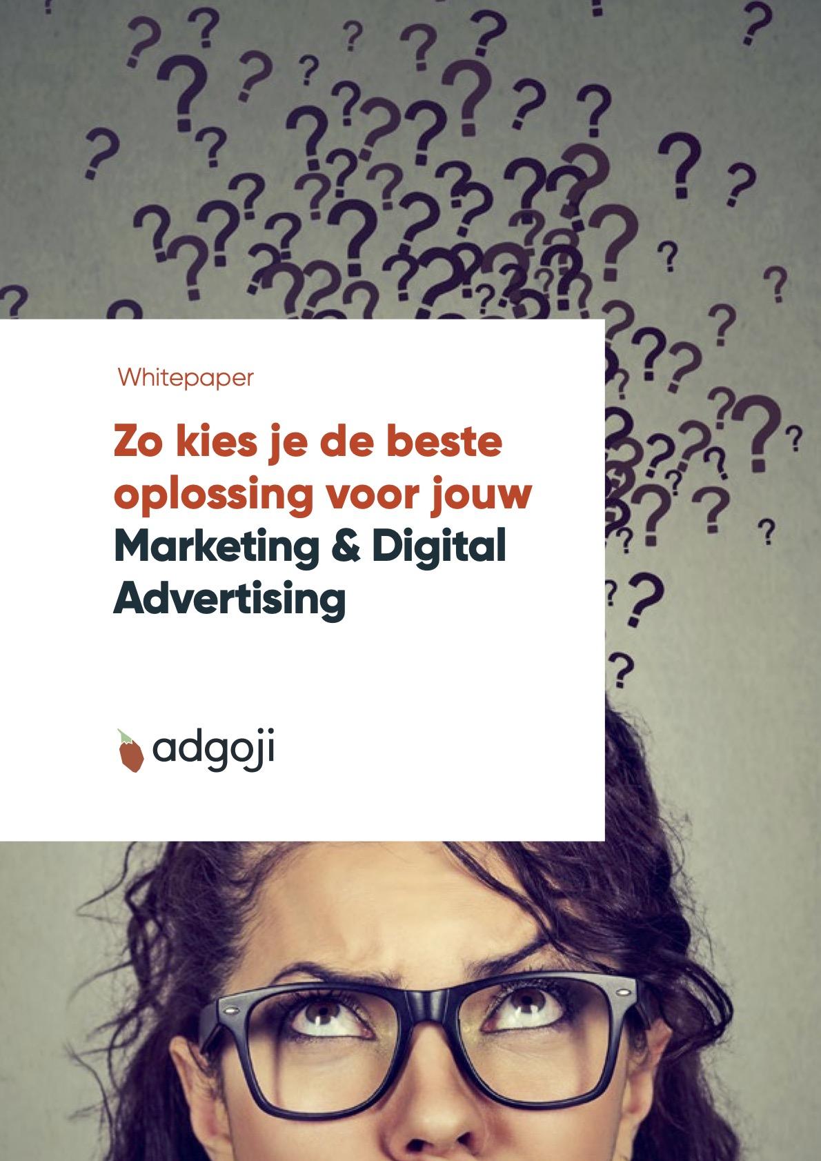 Zo kies je de beste oplossing voor jouw marketing & digital advertising