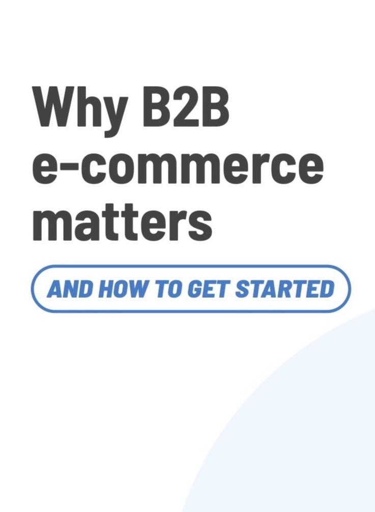 Hoe zet je een B2B webshop op?